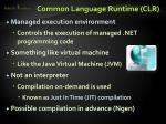 common language runtime clr1