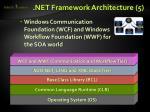 net framework architecture 5