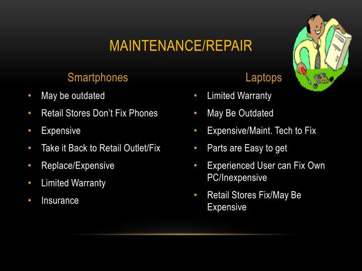 Maintenance/Repair