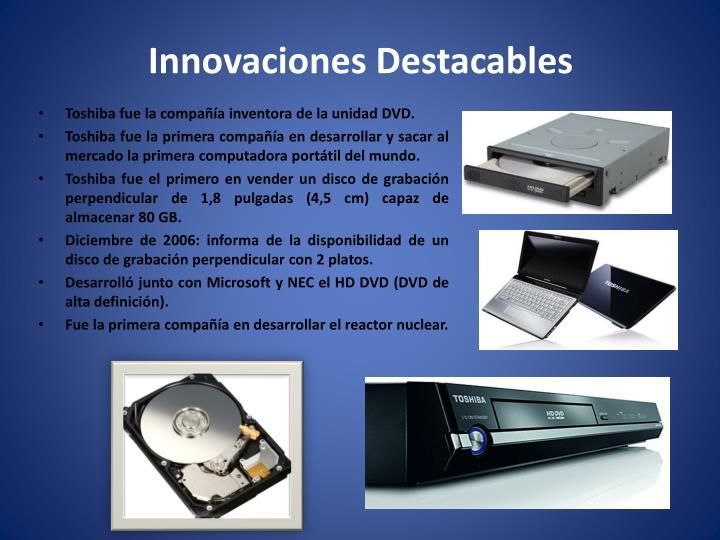 Innovaciones Destacables