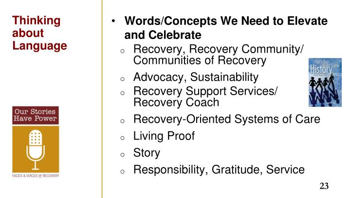 Words/Concepts We Need to Elevate and Celebrate