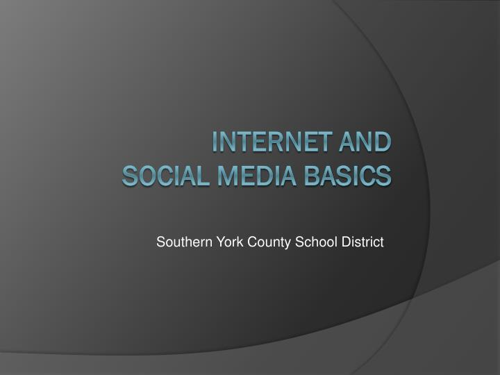 Southern york county school district