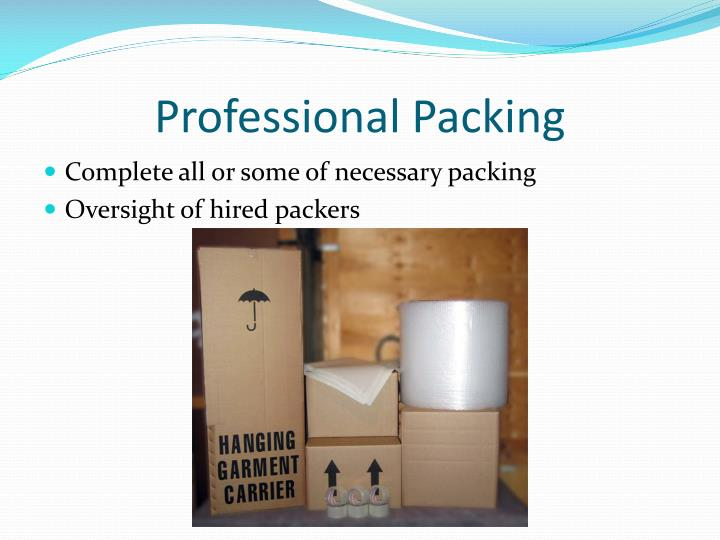 Professional Packing