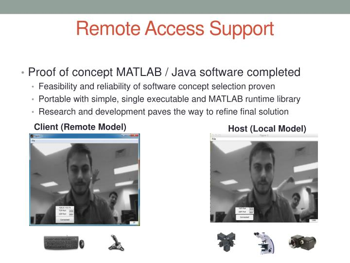 Remote Access Support