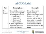 abc d model