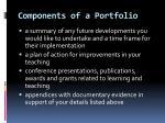 components of a portfolio2