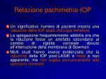 relazione pachimetria iop