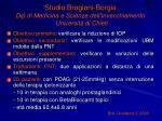 studio brogioni borgia dip di medicina e scienze dell invecchiamento universit di chieti