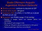 studio offermann augustin augenklinik klinikum karlsruhe