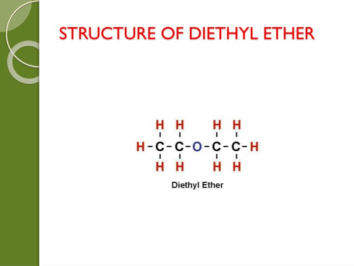 STRUCTURE OF DIETHYL ETHER