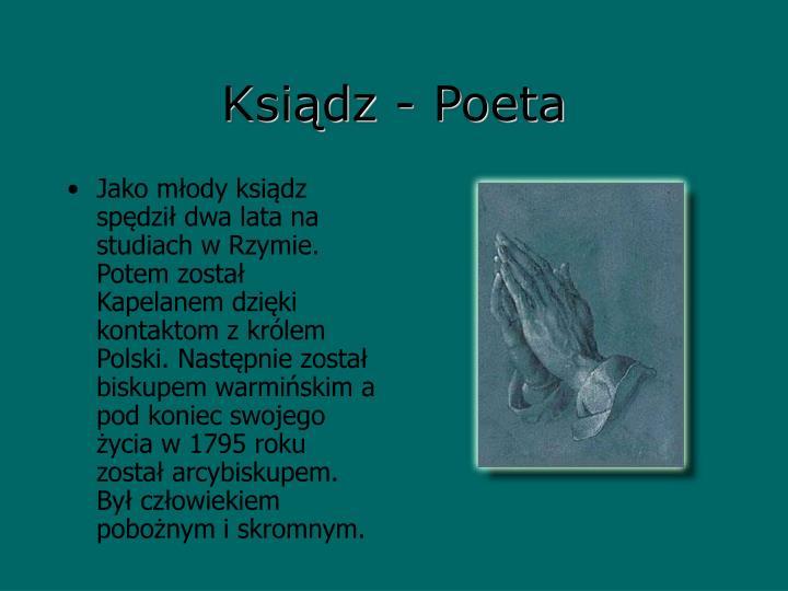 Ksiądz - Poeta