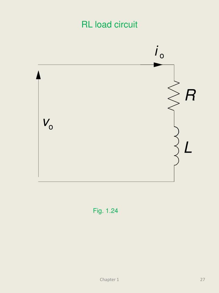 RL load circuit