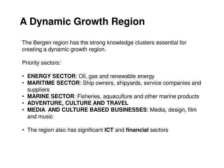 A Dynamic Growth Region