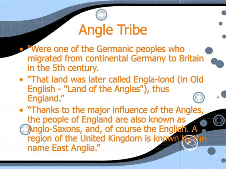 Angle Tribe