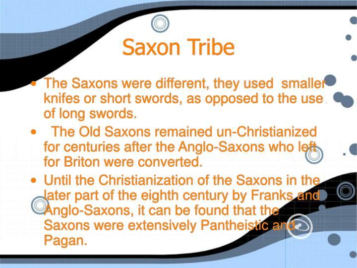 Saxon Tribe