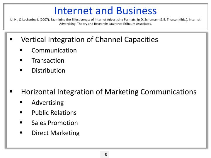 Internet and Business