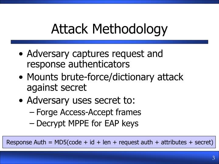 Attack methodology