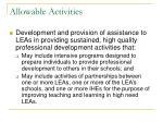 allowable activities3