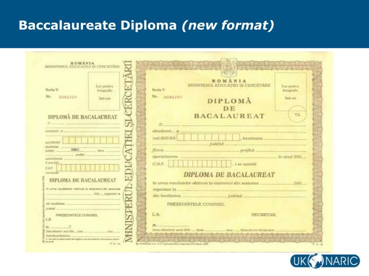 Baccalaureate Diploma