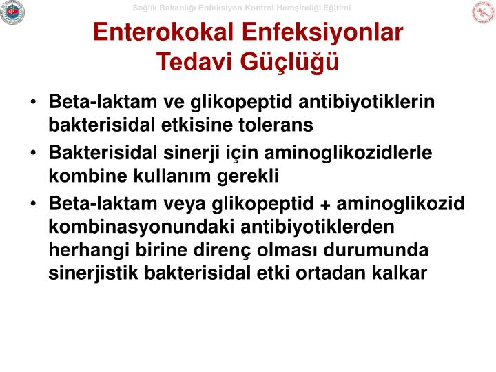 Enterokokal Enfeksiyonlar