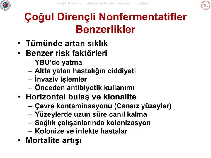 Çoğul Dirençli Nonfermentatifler