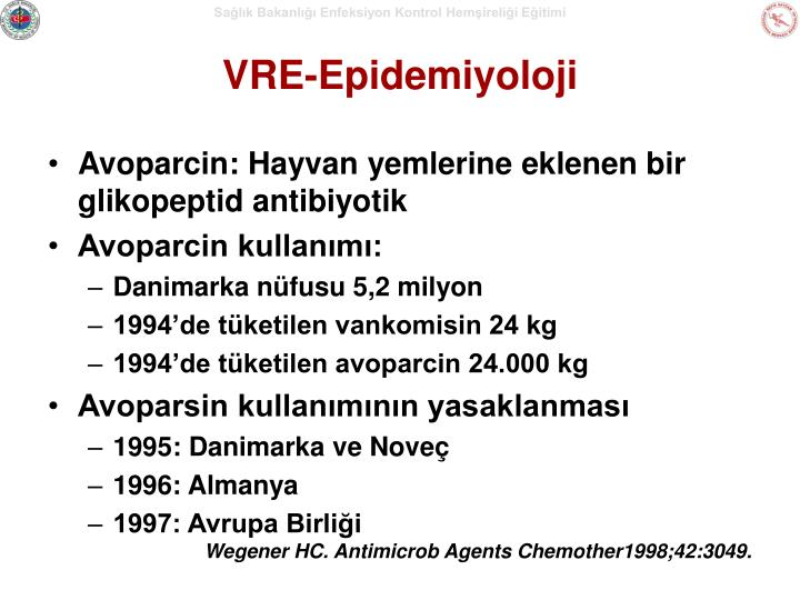 VRE-Epidemiyoloji