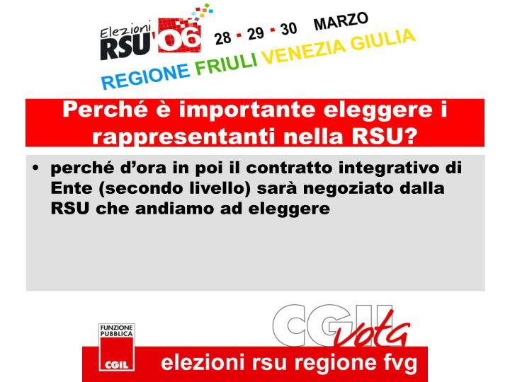 Perché è importante eleggere i rappresentanti nella RSU?