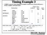 timing example 3