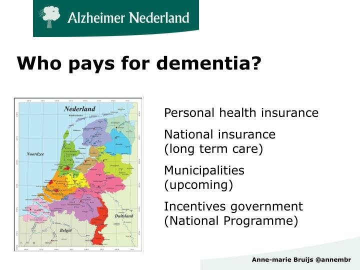 Who pays for dementia?