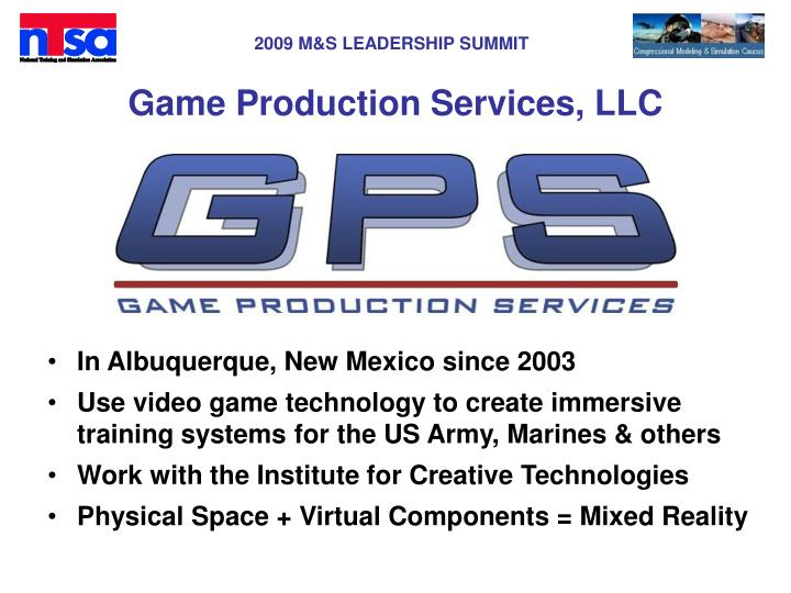 game production services llc n.