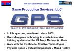 game production services llc