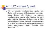 art 117 comma 6 cost