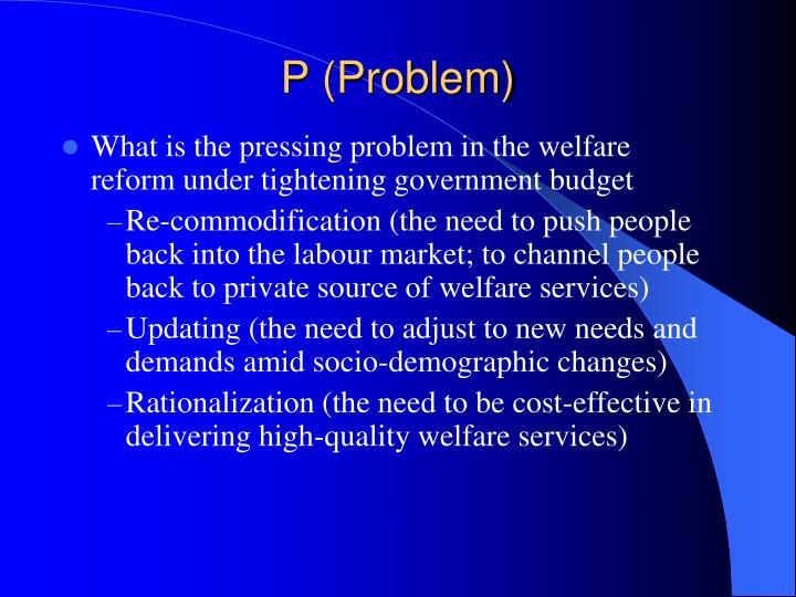 P (Problem)