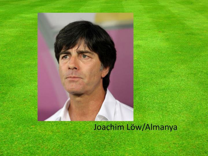 Joachim Löw/Almanya