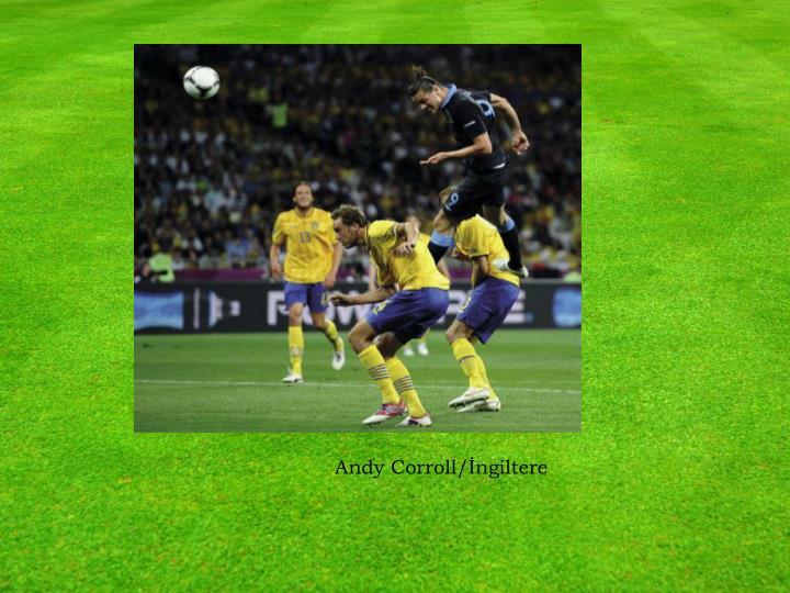 Andy Corroll/İngiltere