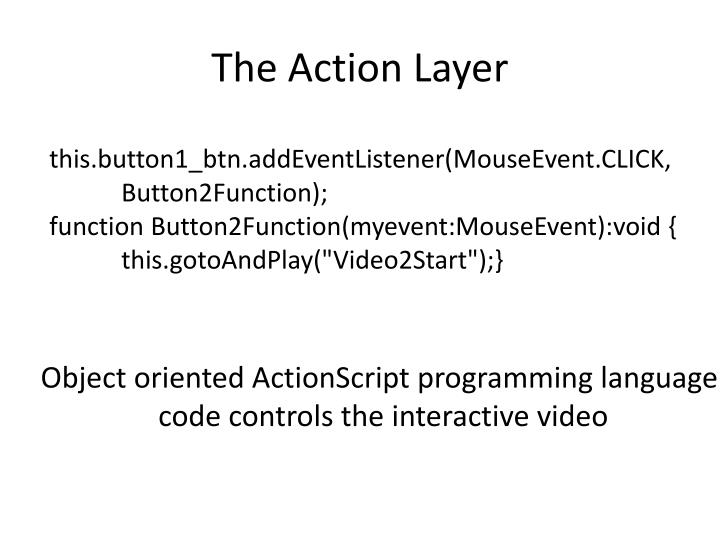 The Action Layer
