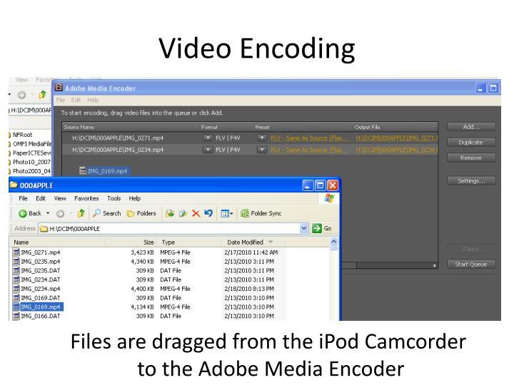 Video Encoding