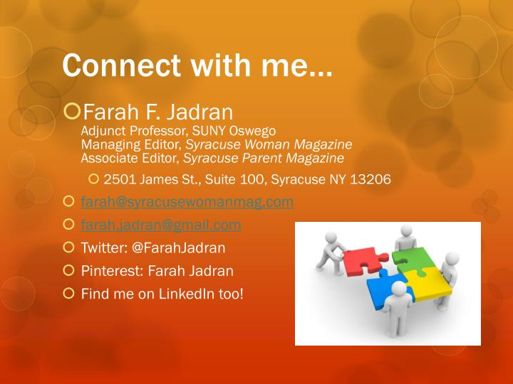 Connect with me…