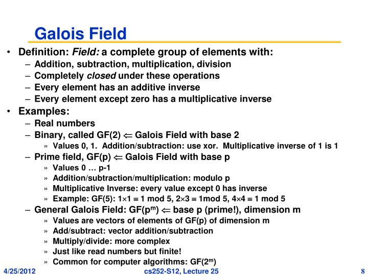 Galois Field