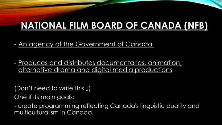 National Film Board of Canada (NFB)