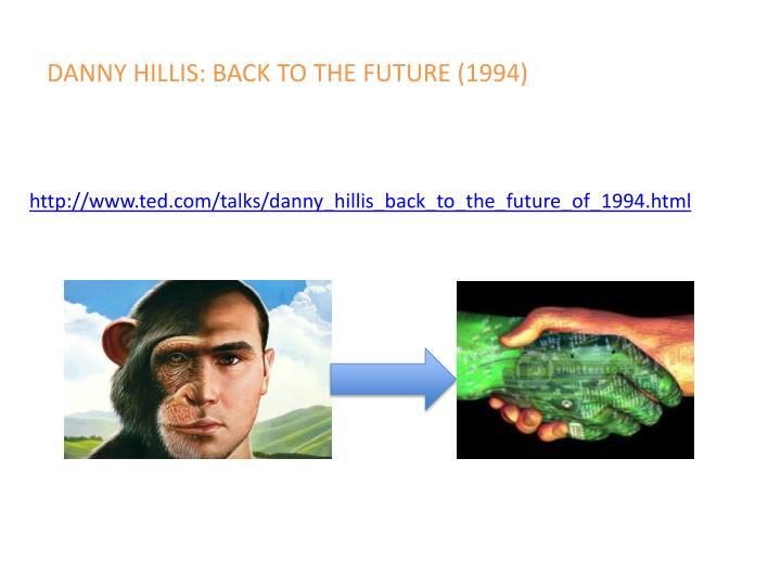 Danny hillis back to the future 1994
