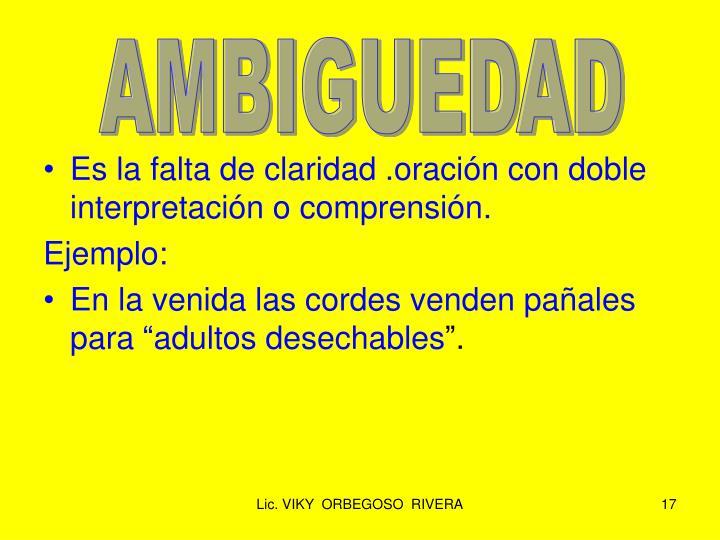 AMBIGUEDAD