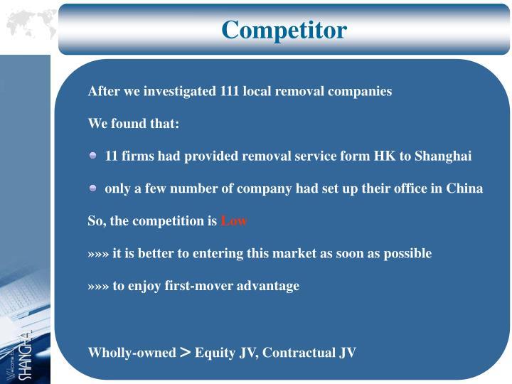Competitor