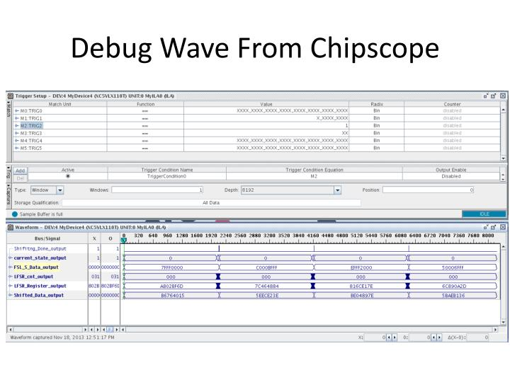 Debug Wave From