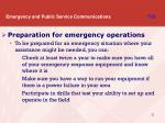 emergency and public service communications t8b