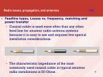 radio waves propagation and antennas t9c