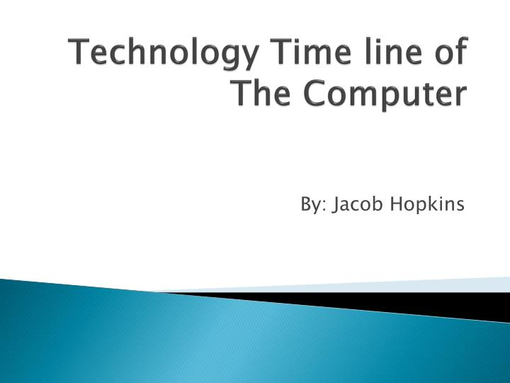 technology time line of the computer n.