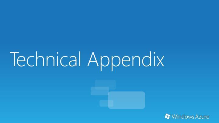 Technical Appendix