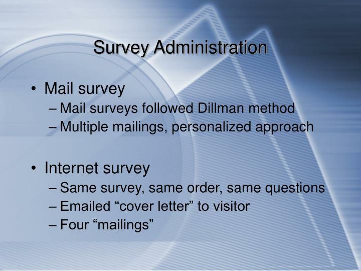Survey Administration