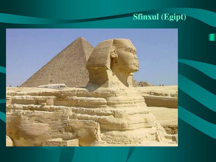 Sfinxul egipt